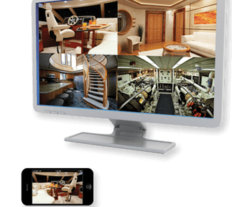 marine security systems give visual surveillance from almost any digital device