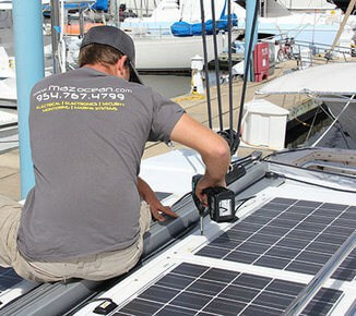 marine systems repair and installation by maz ocean technician